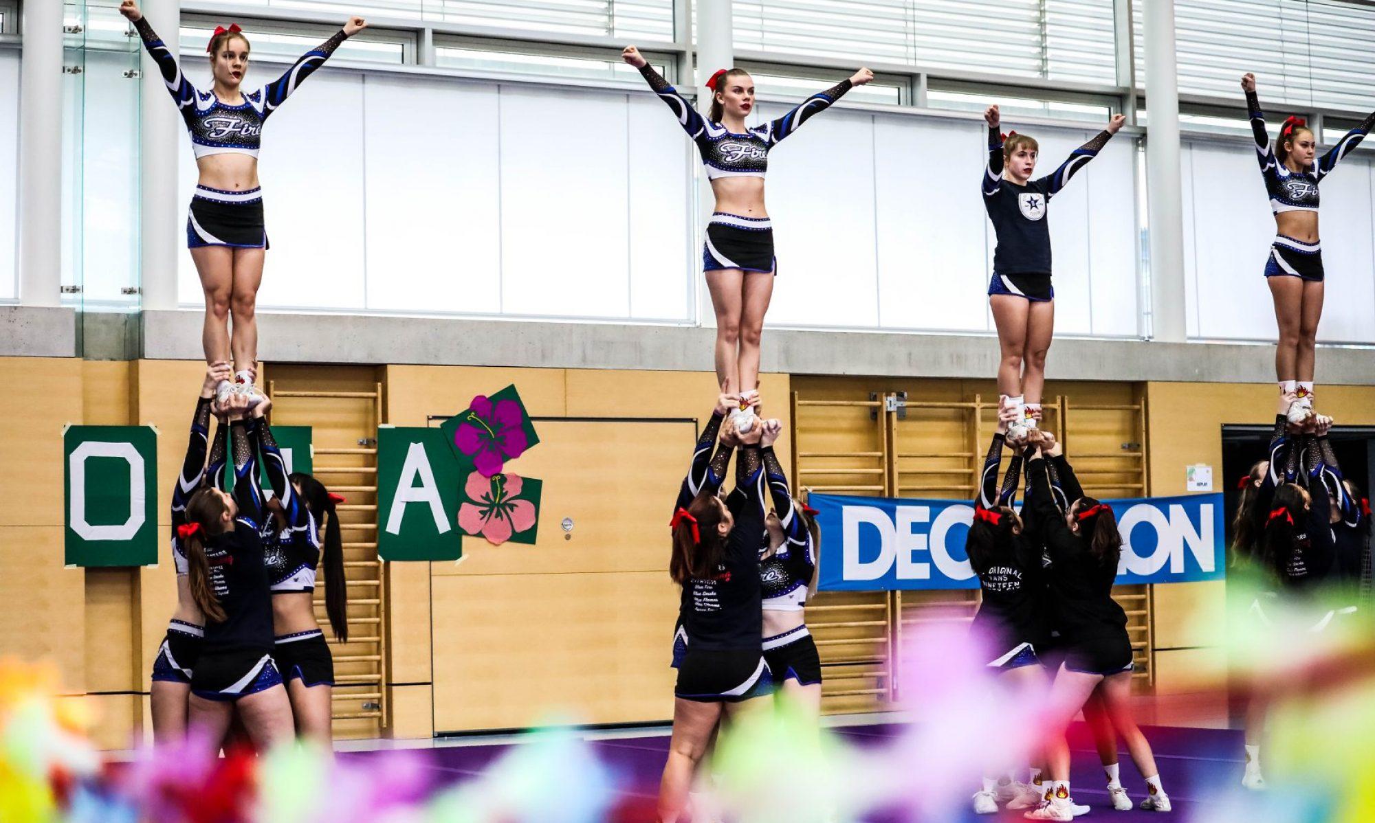 Fire Allstars Cheer